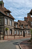 France, picturesque village of  Lyons la Foret Stock Photography