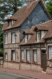 France, picturesque village of  Lyons la Foret Royalty Free Stock Photo