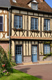 France, picturesque village of Lyons la Foret in Normandie Stock Image