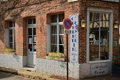 France, picturesque village of Lyons la Foret in Normandie Stock Photography