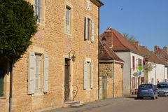 France, picturesque village of MONTCEAUX L ETOILE. France, the picturesque village of MONTCEAUX L ETOILE in Saone et Loire royalty free stock photography