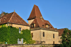 France, picturesque village of Montfort Royalty Free Stock Photography