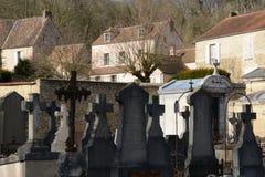 France, the picturesque village of Montfort L Amaury Stock Photo