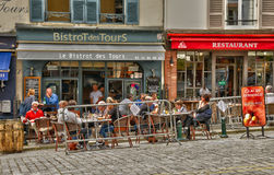 France, the picturesque village of Montfort l Amaury royalty free stock images