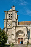 France, picturesque village of Montjavoult in Picardie Royalty Free Stock Images