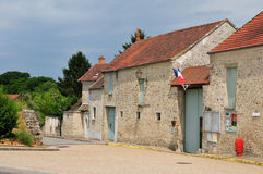 France, the picturesque village of Sailly Royalty Free Stock Image