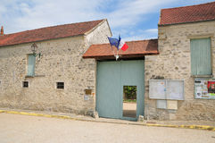 France, the picturesque village of Sailly Royalty Free Stock Images