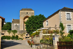 France, picturesque village of Saint Amand de Coly Stock Photography