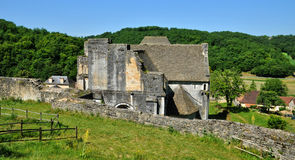 France, picturesque village of Saint Amand de Coly Stock Images
