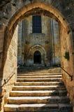 France, picturesque village of Saint Amand de Coly Stock Image