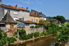France, picturesque village of Saint Cere Royalty Free Stock Images