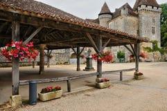 France, picturesque village of Saint Jean de Cole Stock Photos