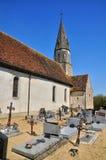 France, picturesque village of Saint Jean de la Foret Stock Image