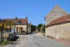 France, picturesque village of Saint Jean de la Foret Royalty Free Stock Photo