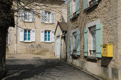 France, the picturesque village of Seraincourt Stock Image