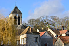 France, the picturesque village of Seraincourt Stock Photos