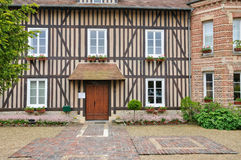 France, picturesque village of Tourgeville  in Normandie Royalty Free Stock Photography