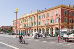 France. Place Massena in Nice Royalty Free Stock Image