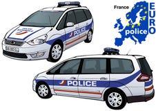 France Police Car Stock Image