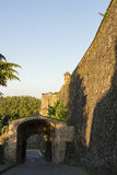 France Portal in the Pamplona Walls. Royalty Free Stock Photography
