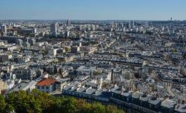 france powietrzny widok Paris zdjęcie stock