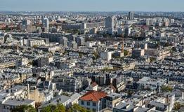 france powietrzny widok Paris obrazy royalty free