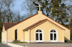 France, the presbyterian church of Meulan in les Yvelines Royalty Free Stock Photo