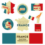France presidential election Royalty Free Stock Photography