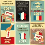 France presidential election Stock Images