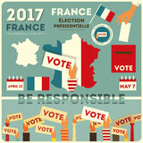 France presidential election Stock Photo