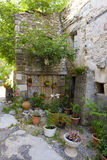 france provence rougon Royaltyfria Foton