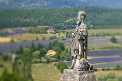 France - Provence - Sault Stock Image