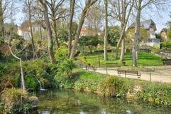 France, a public park in Villennes sur Seine Royalty Free Stock Photography