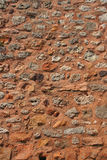 france röd rousillonvägg Royaltyfri Bild