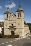 France, renaissance church of Medan Stock Photo
