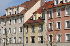 France, residential block in Vaureal Stock Images