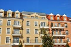 France, residential block in Vaureal Stock Image