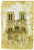 France - retro style picture Royalty Free Stock Photo