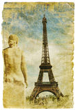 France - retro style picture Stock Image
