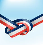 France ribbon flag Royalty Free Stock Photos