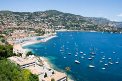 france riviera royaltyfria bilder