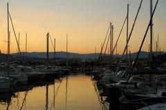 France Riviera, the marine Stock Photos
