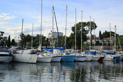 France Riviera, the marine Stock Image
