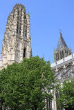 France. Rouen. Royalty Free Stock Photo