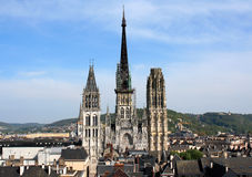 France. Rouen Royalty Free Stock Photos