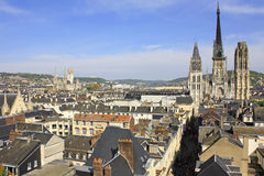 France. Rouen. Royalty Free Stock Images