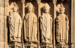 France Rouen: the gothic cathedral of Rouen. Was the world�s tallest building from 1876 to 1880. The Norman cathedral contains the tomb of Richard the Lion Royalty Free Stock Photos