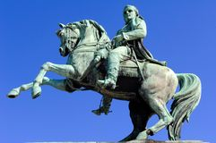 France Rouen: Napoleon statue Royalty Free Stock Images
