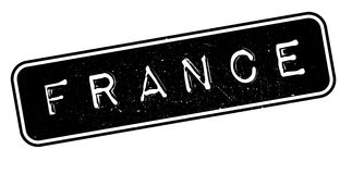 France rubber stamp Royalty Free Stock Photo