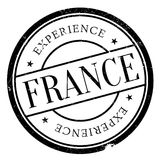 France rubber stamp Royalty Free Stock Photography